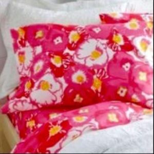 RARE Lilly Pulitzer Duvet Cover / Two Pillow Sham